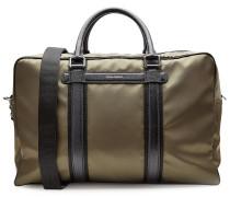 Reisetasche mit Leder