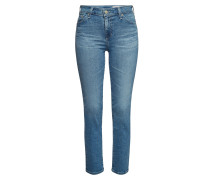 High Rise Straight Leg Jeans Mari