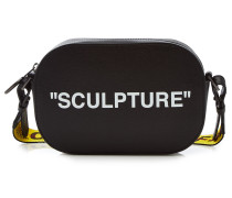 Bedruckte Camera Bag Sculpture aus Leder