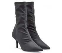 Ankle Boots in Satin-Optik