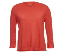 Shirt Toriana03 mit 7/8-Volantärmeln