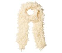 Fransenschal mit Wolle und Mohair