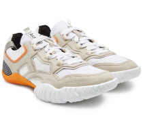 Sneakers Berun mit Veloursleder und Mesh