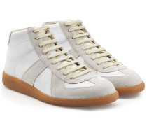 High Top Sneakers Replica aus Leder