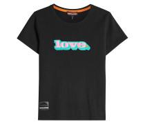 Bedrucktes T-Shirt Love aus Baumwolle