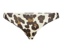 Bikini-Höschen The Colette mit Leoparden-Print