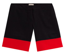 Seiden-Shorts im Two-Tone-Look