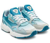 Sneakers Falcon mit Veloursleder und Mesh