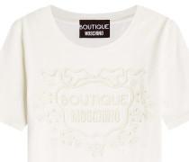 T-Shirt aus Baumwolle mit Cut Outs