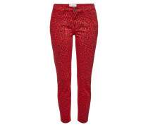 Bedruckte Cropped Skinny Jeans The Stiletto