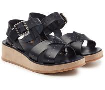 Sandalen Odette aus Leder