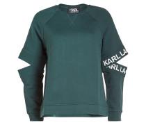 Bedrucktes Baumwoll-Sweatshirt mit Logo-Prints