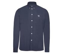 Slim-Fit-Hemd aus Baumwolle mit Logo