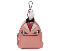 Bag-Bug Backpack aus Leder und Fuchspelz