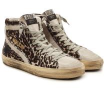 High Top Sneakers Slide