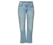 Destroyed Straight Leg Jeans Bowie