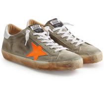 Sneakers Super Star aus Veloursleder