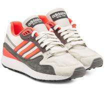 Sneakers Ultra Tech aus Veloursleder und Stoff