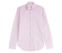 Print-Hemd aus Baumwolle