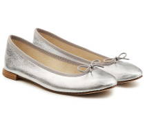 Ballerinas Cendrillon aus beschichtetem Leder