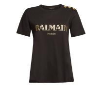 balmain t shirts f�r damen sale \u0026 f s kollektion 2018 mybestbrands  bedrucktes t shirt aus baumwolle