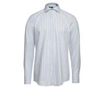 Gestreiftes Slim-Fit-Hemd Jason aus Baumwolle