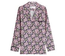 Bedruckte Pyjama-Bluse
