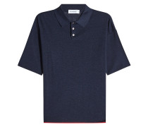 Poloshirt aus Seide