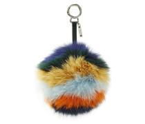 Bag Bug Pompom aus Fuchspelz
