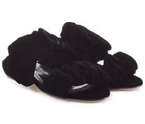 Sandalen Courtney aus Samt