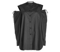 Cold-Shoulder-Bluse Ripley aus Baumwolle
