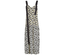 Bedrucktes Kleid Celeste aus Seide