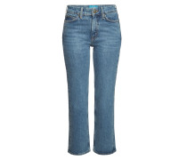 High Waist Cropped Jeans Daily