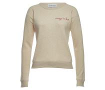 Besticktes Sweatshirt Crazy in Love aus Baumwolle