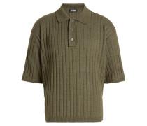 Poloshirt mit Baumwolle und Wolle