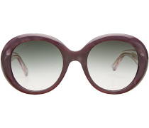 Runde oversized Sonnenbrille