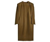 Mantel aus Schurwolle und Kaschmir