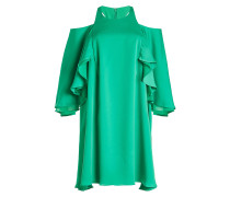 Cold Shoulder Dress mit Volants