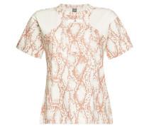 Gemustertes T-Shirt Graphic mit Baumwolle