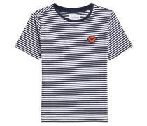 Gestreiftes T-Shirt Rain mit Baumwolle