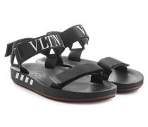 Sandalen mit Logo-Details und Klettverschlüssen