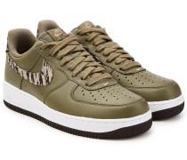 Sneakers Air Force 1 AOP PRM aus Leder