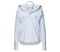 Gestreifte Off-Shoulder-Bluse