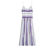 Gemustertes Strandkleid aus Baumwolle