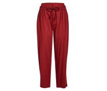 Cropped Pants mit Baumwolle