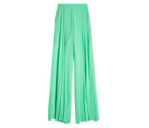 Wide Leg Pants aus Seide
