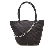 Bedruckte Handtasche Roxy Small mit Leder
