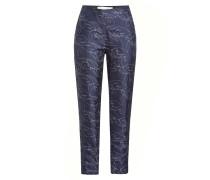 Bedruckte Pyajama-Pants aus Seide