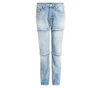 Statement-Jeans aus Baumwolle