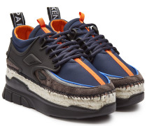 Plateau-Sneakers K-Lastic mit Espadrille-Sohle